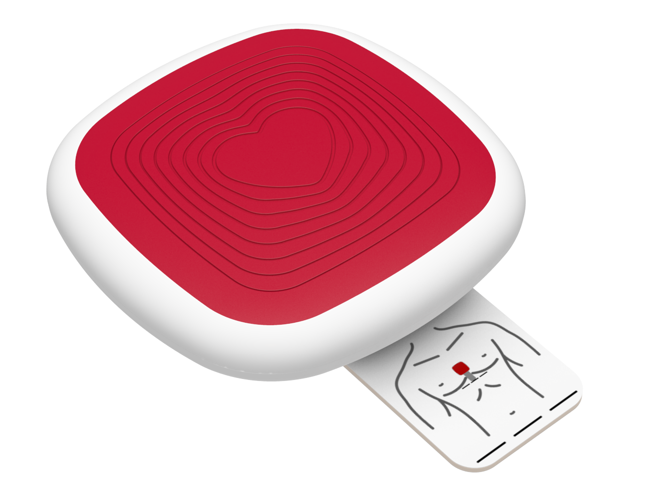 CorPatch® Trainer is a rechargeable solution for training CPR with same feedback as CorPatch® - a Train As You Fight concept!